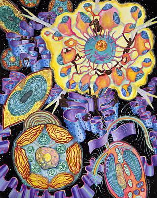 Algae Art Print by Shoshanah Dubiner
