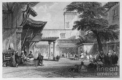 Tea Tree Photograph - Algiers: Bazaar by Granger