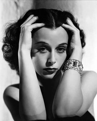 Algiers, Hedy Lamarr, Portrait Art Print by Everett