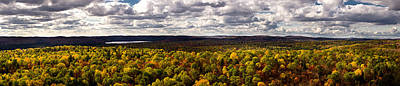 Algonquin Park Panorama Art Print by Cale Best