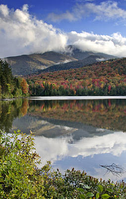 Algonquin Peak From Heart Lake - Adirondack Mountains Art Print by Brendan Reals