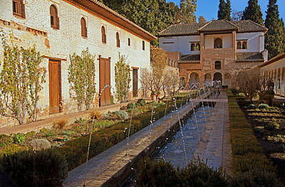 Andalucia Photograph - Alhambra - Casa  De Los Amigos by Rod Jones