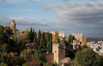 Photograph - Alhambra From Above by Lorraine Devon Wilke