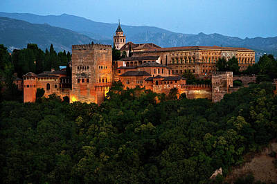 Photograph - Alhambra by Harry Spitz