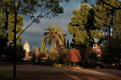 Photograph - Alhambra Sunspot by Lorraine Devon Wilke