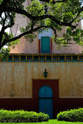 Photograph - Alhambra Water Tower Doors by Ed Gleichman