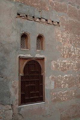 Photograph - Alhambra Window by Lorraine Devon Wilke