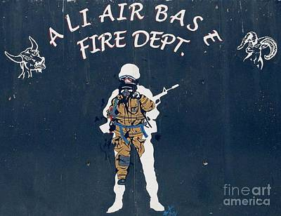 Ali Air Base Fd Art Print by Unknown