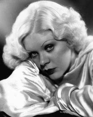 Thin Eyebrows Photograph - Alice Faye, Ca. Mid-1930s by Everett