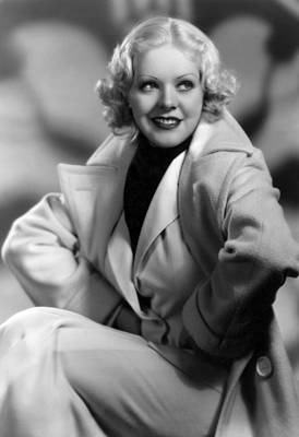1930s Hairstyles Photograph - Alice Faye, Fox Film Portrait, Ca by Everett