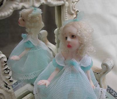 Fae Art Mixed Media - Alice  Life Is But A Dream by Deborah Gouldthorpe