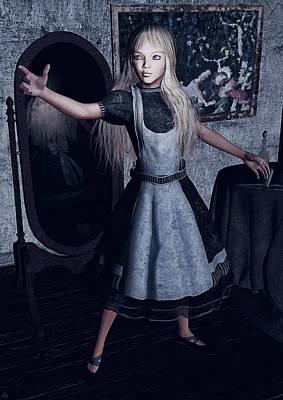Alice In Wonderland Painting - Alice  by Maynard Ellis