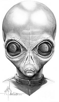 Alien From Space Original by Murphy Elliott