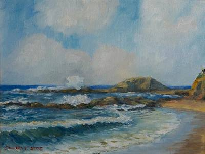 Painting - Aliso Beach by Edward White