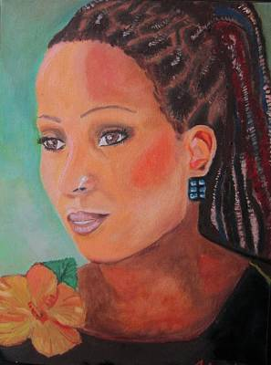 Painting - Alison Hinds by Jennylynd James