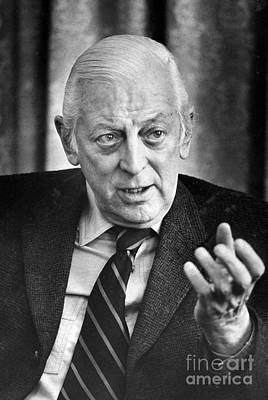 Alistair Cooke (1908-2004) Art Print by Granger