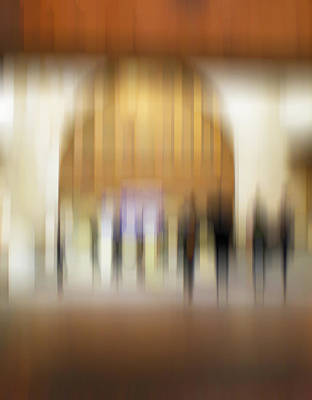 Photograph - Alive In The City 4 - At Union Station by Robin Webster