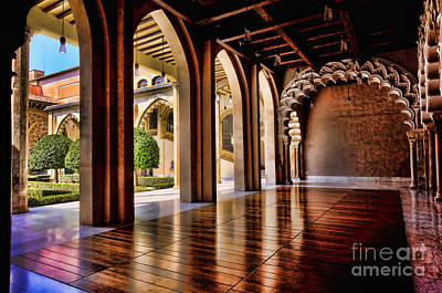 Aljaferia Palace Zaragoza Colour II Art Print by Jack Torcello