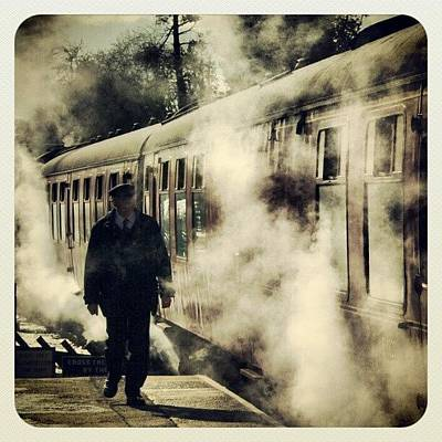 Steam Wall Art - Photograph - All Aboard (2) # North #yorkshire by Pete Carr
