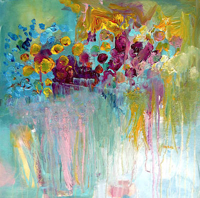 Painting - All Beautiful Things Grow Wild by Wendy Mcwilliams