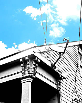 Digital Art - All Hooked Up In Beauregard Town by Lizi Beard-Ward