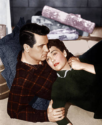 1955 Movies Photograph - All That Heaven Allows, From Left Rock by Everett