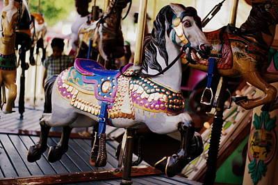 All The King's Horses Art Print by Linda Mishler