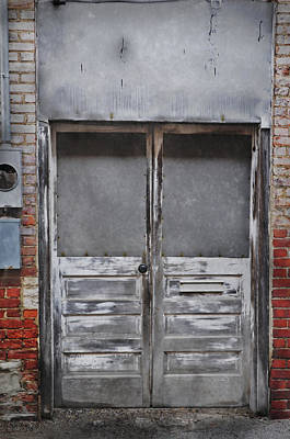 Photograph - Alley Doors by David Arment