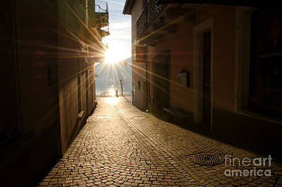 Sk Stones Photograph - Alley In Backlight  by Mats Silvan