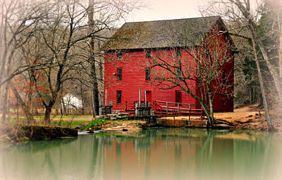 Alley Mill 4 Art Print by Marty Koch