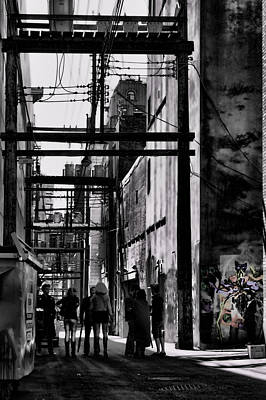 Alley Parade  Print by Empty Wall