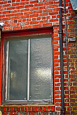 Alley Window Original