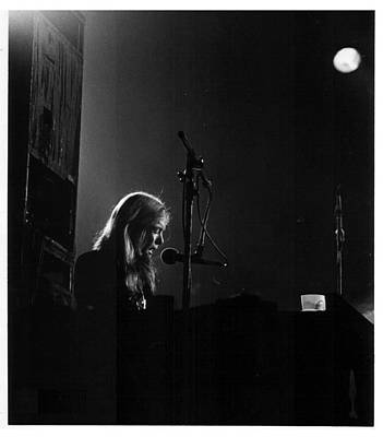 The Allman Brothers Photograph - Allman Brothers Greg Allman In Concert by Don Struke