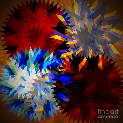 Circular Saw Blade Digital Art - Allure Blade by Atiketta Sangasaeng