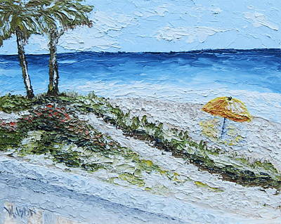 Painting - Alluring Beach by Chrys Wilson