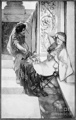 Tadema Photograph - Alma-tadema: Shy by Granger