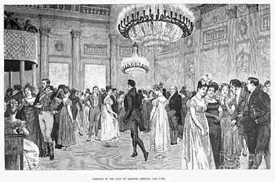 Almacks Club, C1815 Art Print