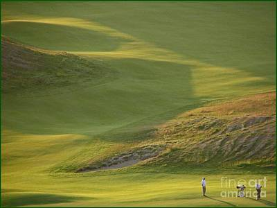 Photograph - Almost Done - Chambers Bay Golf Course by Chris Anderson