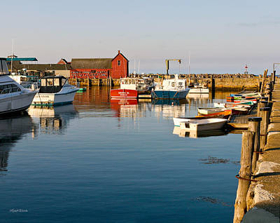 Photograph - Almost Summer Motif No. 1 Rockport Massachusetts by Michelle Wiarda-Constantine