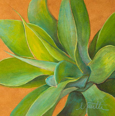 Tropical Plant Painting - Aloha 2 by Athena  Mantle