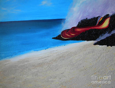 Painting - Aloha by Silvie Kendall