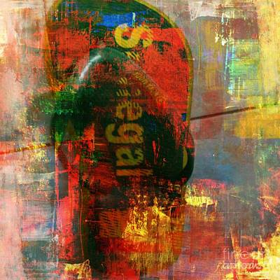 Missing Mixed Media - Alone - Not A Perfect Pair by Fania Simon