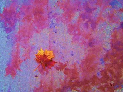 Painting - Alone In Autumn by Tom Tunnicliff