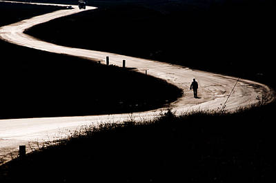Photograph - Alone On The Road by Okan YILMAZ