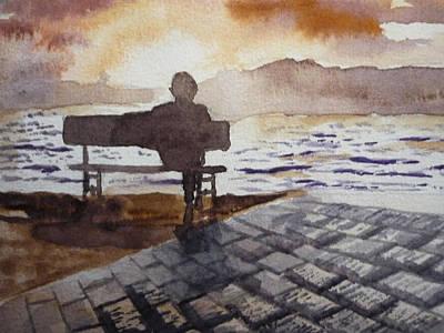 Alone... Art Print by Vuong Anh Tuan