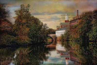 Along The Blackstone River Art Print by Robin-Lee Vieira