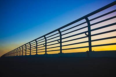 Florida Bridge Photograph - Along The Bridge by Betsy Knapp