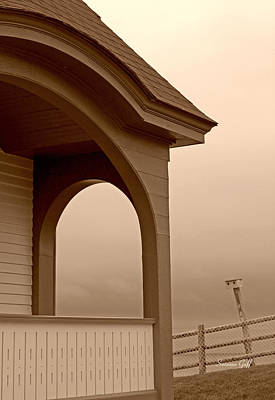 Photograph - Along The Coast Of Maine In Sepia by Suzanne Gaff