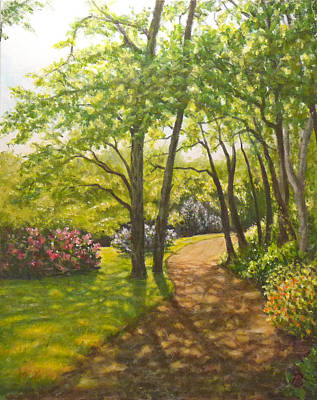 Painting - Along The Path by Joe Bergholm