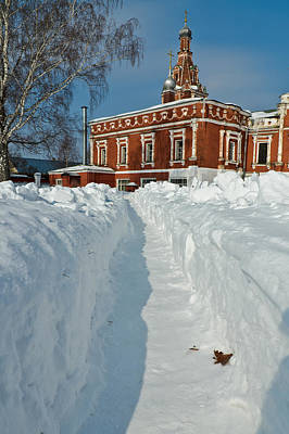 Photograph - Along The Path To The Church by Michael Goyberg